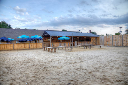 Beach Bar at Artie's Bar and Grill in Frenchtown, NJ. Photo by Stepehen Kielce